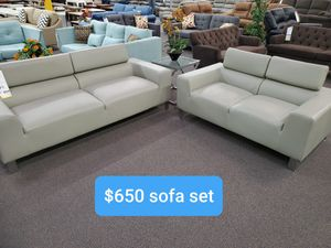 ***2pc sofa set*** $50 down payment if financed for Sale in Running Springs, CA