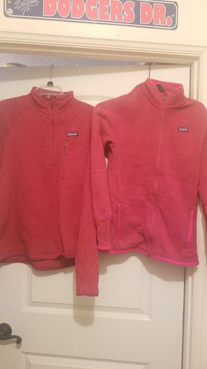 Patagonia Red Pullover Jacket Mens and Womans Medium for Sale in Long Beach, CA