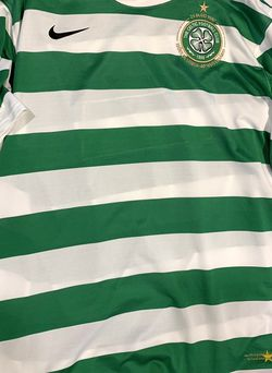 2007 Celtic FC 40th Anniversary Lisbon Lions Kit Jersey Men's Large for Sale in Southlake,  TX