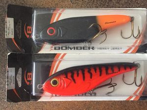 Bomber Herky Jerky rattle fishing lures (2) for Sale in New York, NY