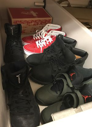 Jordan's and vans and timbs for Sale in Laquey, MO