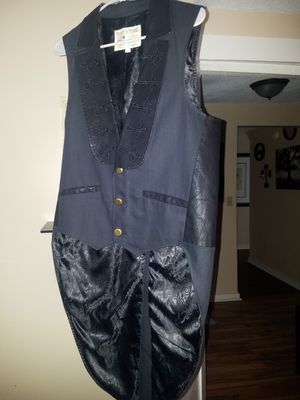 Steampunk tail waistcoat for Sale in Brewer, ME