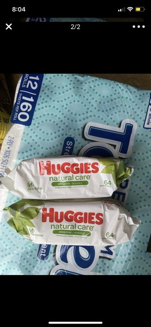 Huggies baby wipes for Sale in Silver Spring, MD