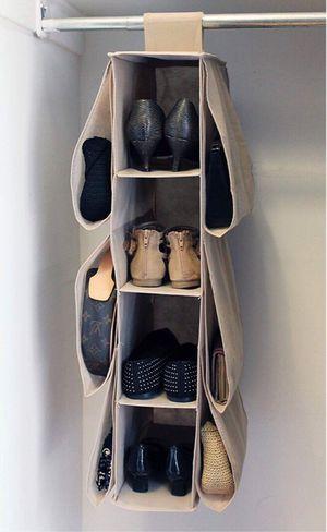 New in box closet storage organizer shoe purse easy to attach or install for Sale in Covina, CA