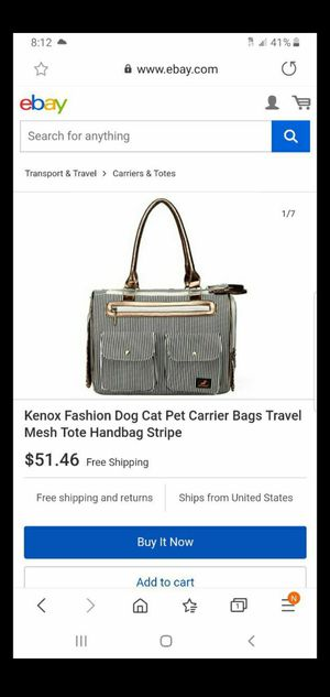 Small Pet carrier bag for Sale in Los Angeles, CA
