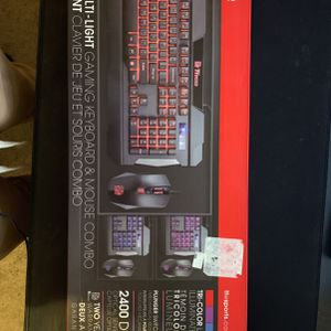 Thermaltake Esports Gaming Keyboard and Mouse combo for Sale in Temple City, CA