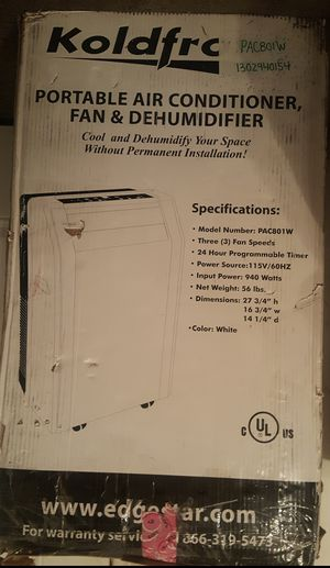 PORTABLE AIR CONDITIONER W/REMOTE for Sale in Nashville, TN