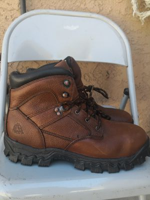 Brand new rocky steel toe work boots size 12M for Sale in Riverside, CA