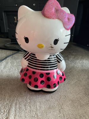 Hello kitty piggy bank for Sale in Pflugerville, TX