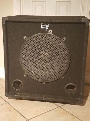 EV BASS Guitar monitor for Sale in Greater Landover, MD