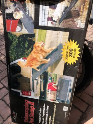 Dog Ramp. Telescopic easy to carry for Sale in North Bay Village, FL