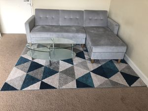 All together ( sectional sofa, coffee table and rug) for Sale in Nashville, TN