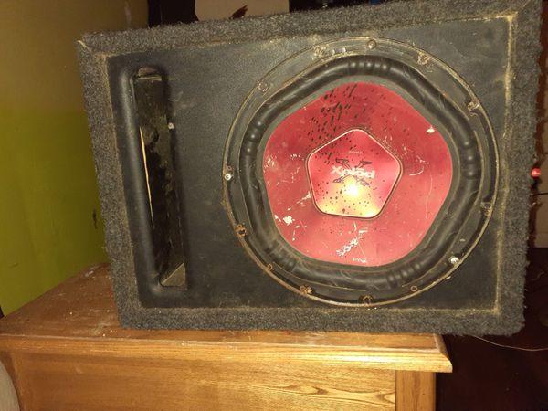 Kicker DX amp and Sony Explode Sub
