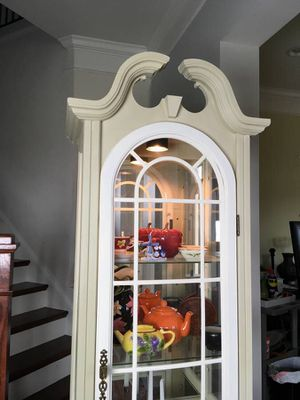 Tall China Cabinet Curio for Sale in Clarksburg, MD