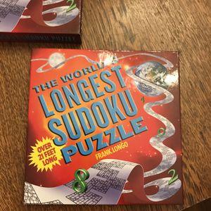 Sudoku Puzzle Book for Sale in Bensenville, IL
