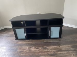 Tv stand 55' tv will fit for Sale in Austin, TX