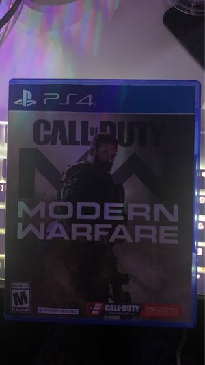 Call Of Duty: Modern Warfare PS4 for Sale in Moreno Valley, CA