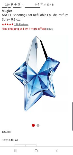 Brand New unopened ANGEL perfume by Thierry Mugler for Sale in Dickerson, MD