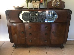 Heron Brand Antique Dining Cabinet for Sale in Scottsdale, AZ