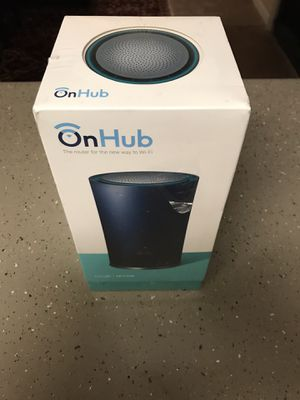 On Hub smart router with Google TP Link for Sale in Nashville, TN