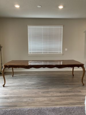 Bernhardt wood French dining table for Sale in Portland, OR