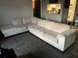 Italian Designer sectional sofa for Sale in Detroit, MI