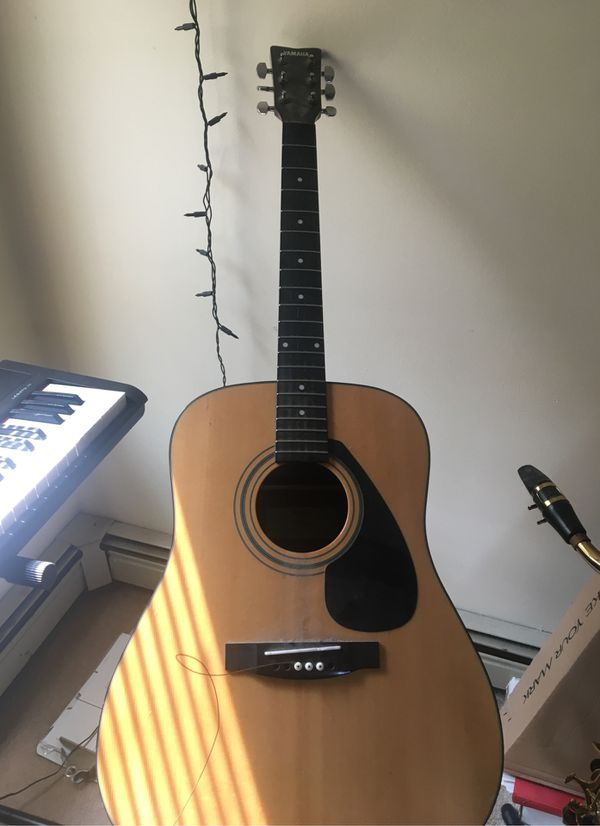 Yamaha FD01s acoustic great condition new plugs