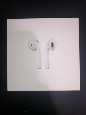 *AUTHENTIC* Apple AirPods w/ Charging Case for Sale in HALNDLE BCH, FL