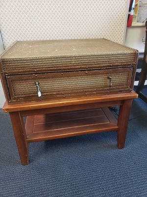 Suitcase end table for Sale in Riverbank, CA