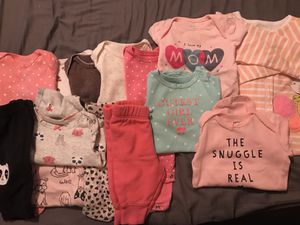 Baby girl clothes 0-3, 3-6 months and 6/9 for Sale in Philadelphia, PA