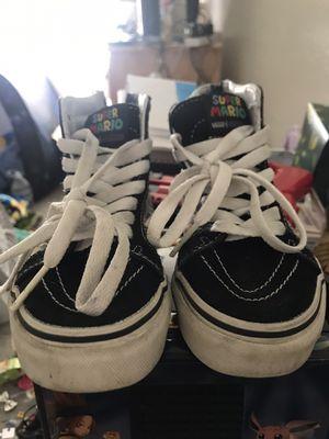 Mario vans old skool shoes13c for Sale in Tustin, CA