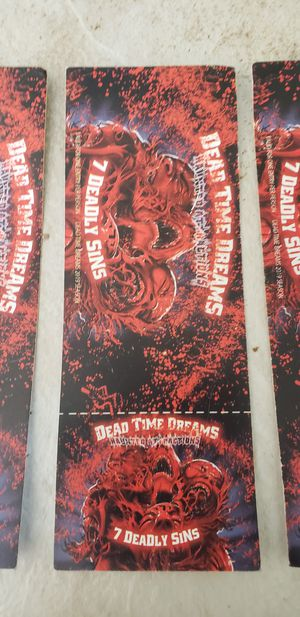 Haunted house tickets DEAD TIME DREAMS for Sale in San Jose, CA
