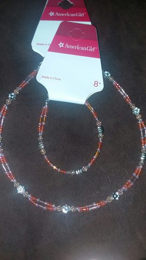 New American Girl Bracelet and necklace set for Sale in Swansea, MA