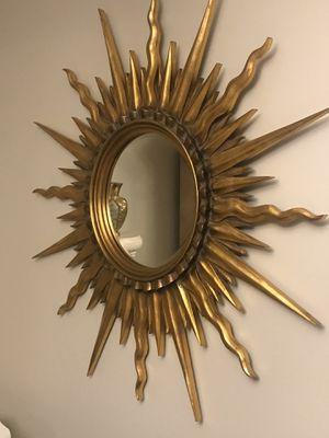 Sun wall mirror for Sale in Brier, WA