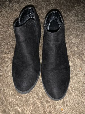 Girls black boots for Sale in Ontario, CA