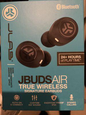 JLAB Audio- JBuds Air True Wireless earbuds Brand new for Sale in SUNNY ISL BCH, FL