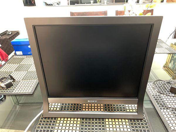 Sony Flat Screen Computer Monitor