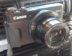 Canon PowerShot G7 X Mark II for Sale in Garden Grove, CA