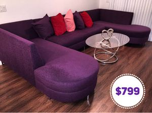 Custom made sectional sofa couch ANY COLOR only @ SmartBuy Furniture for Sale in Hialeah, FL