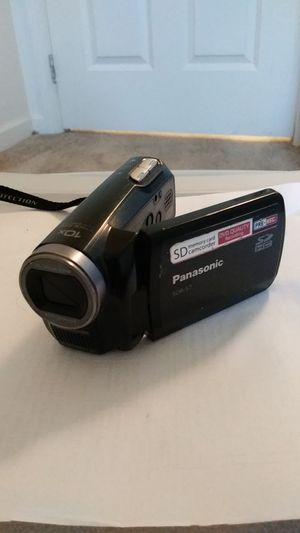 Panasonic SDR-S7P SD Camcorder With Battery and Power Supply for Sale in Columbia, PA