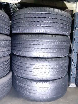 275 60 20 SET OF 4 GOODYEAR WRANGLER SR-A 275/60R20 for Sale in Fort Lauderdale,  FL