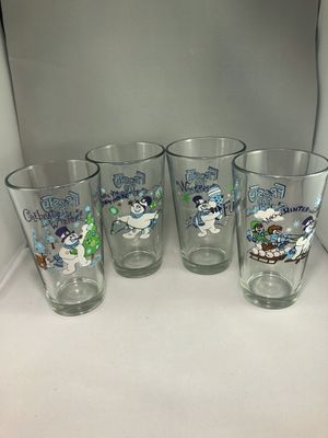 Disney Frosty the Snowman Pint Glasses Collectables for Sale in PROVDENCE FRG, VA