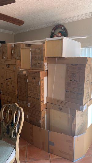 Brand new Hampton Bay white cabinets for Sale in Miami, FL