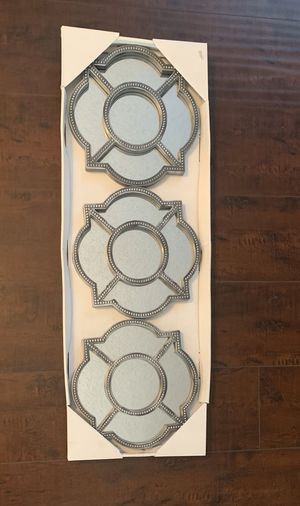 3 piece wall mirror set for Sale in Fontana, CA