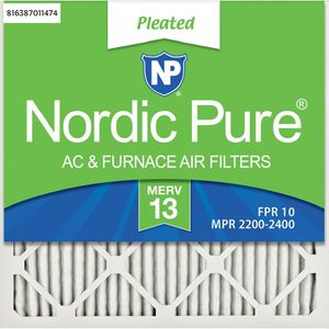 Nordic Pure 24 x 24 x 1 Ultimate Pleated MERV 13 - FPR 10 Air Filter (6-Pack) for Sale in Dallas, TX