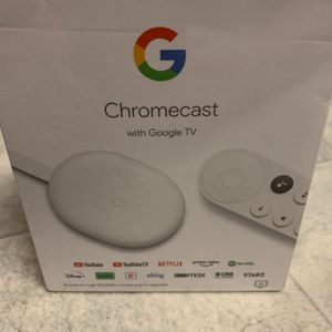Google Chromecast with Google TV - 4K - Snow BRAND NEW SEALED for Sale in Middlefield, OH