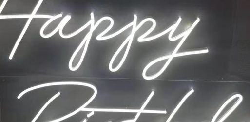 Hand made custom neon sign , wedding sign, event supply, room decorations, gifts. Bride Party,Birthday party business Channel Letters for Sale in Raleigh,  NC