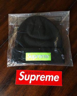 Supreme/New Era Box Logo Beenie for Sale in Carson, CA