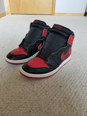 """1994 Air Jordan 1 """"Bred"""" Size 10 for Sale in Green Bay, WI"""