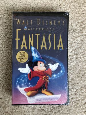 Walt Disney's Fantasia VHS in original packaging for Sale in Chicago, IL
